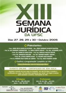 Semana Jurídica da UFSC
