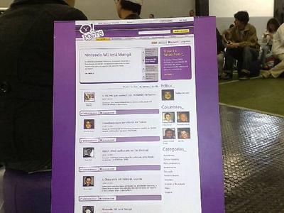 Yahoo!Posts: A cara do projeto.