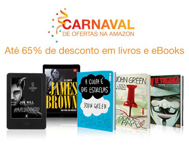 Promoção de Carnaval da Amazon.com.br