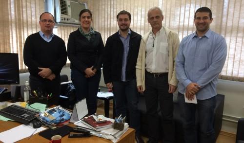Visita de Auditores-Fiscais do Trabalho na 5ª Vara de Porto Alegre.