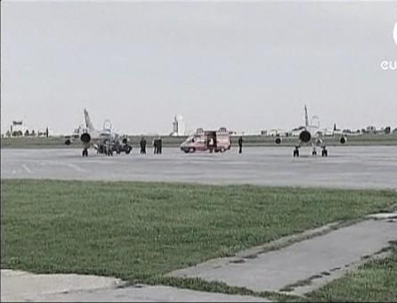 Pilotos líbios desertam